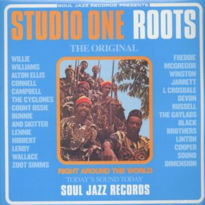 VARIOUS ARTISTS - Studio One Roots - The Rebel Sound At Studio One