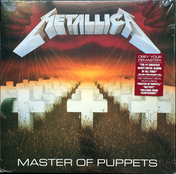 Metalilica- Master Of Puppets-Remastered