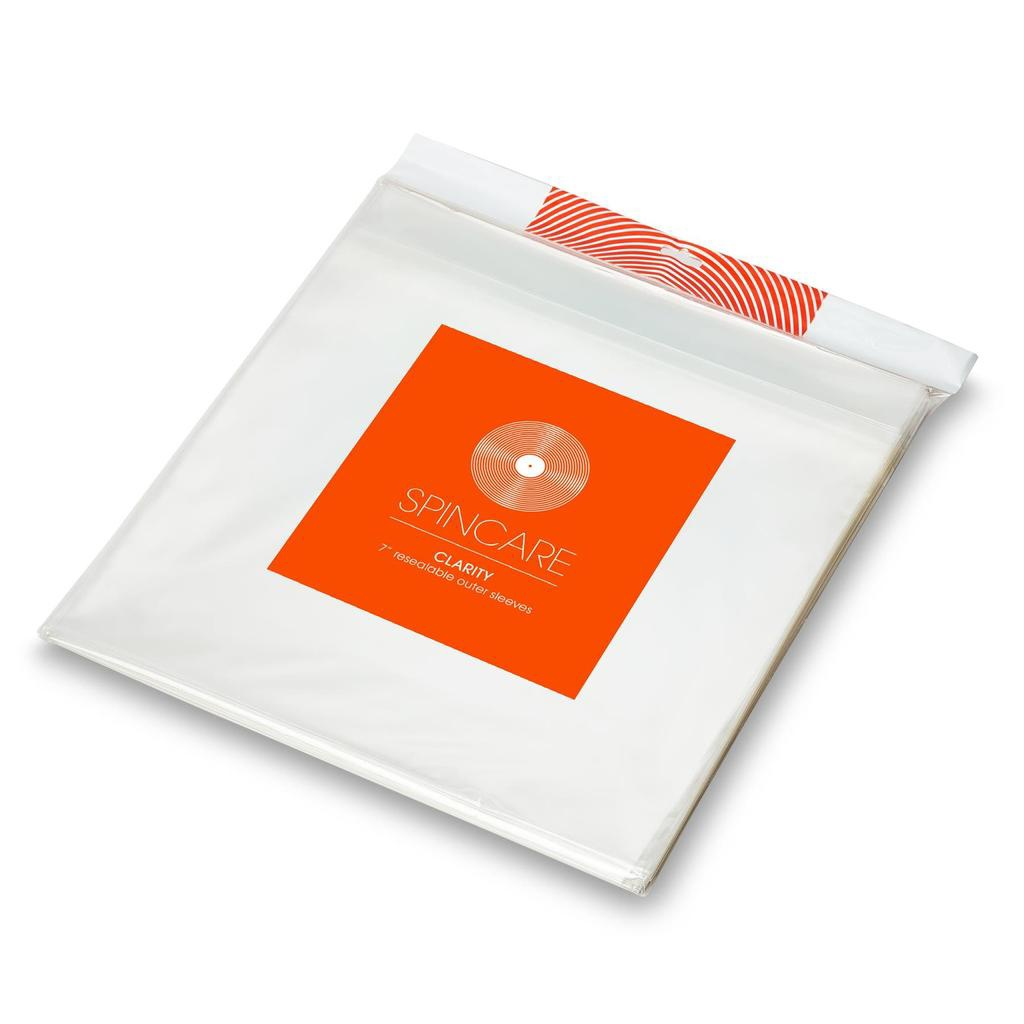 """7"""" resealable outer sleeves (50)"""