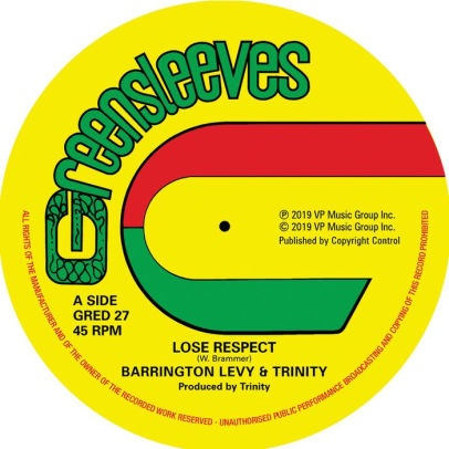 BARRINGTON LEVY + TRINITY - LOSE RESPECT