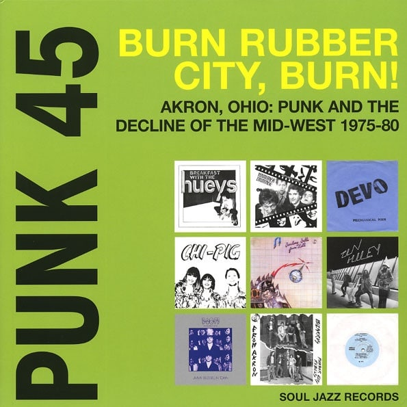 Various - Punk 45 BURN
