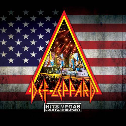 DEF LEPPARD - HITS VEGAS LIVE AT PLANET HOLLYWOOD