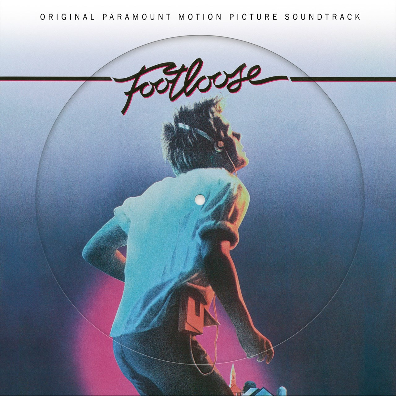 VARIOUS ARTISTS - FOOTLOOSE (ORIGINAL PARAMOUNT MOTION PICTURE SOUNDTRACK PICTURE DISC )