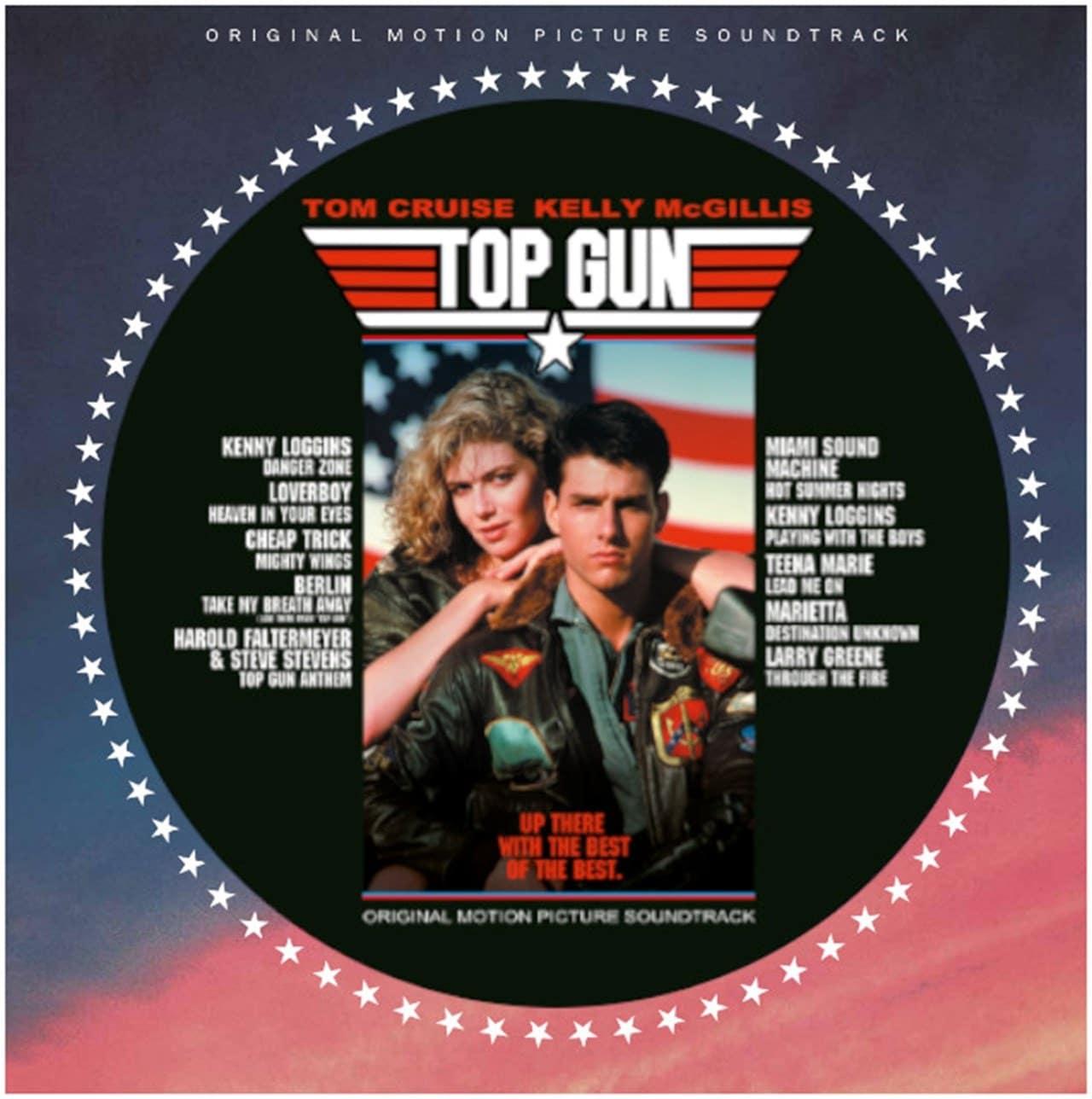 VARIOUS ARTISTS - TOP GUN (ORIGINAL PARAMOUNT MOTION PICTURE SOUNDTRACK PICTURE DISC )