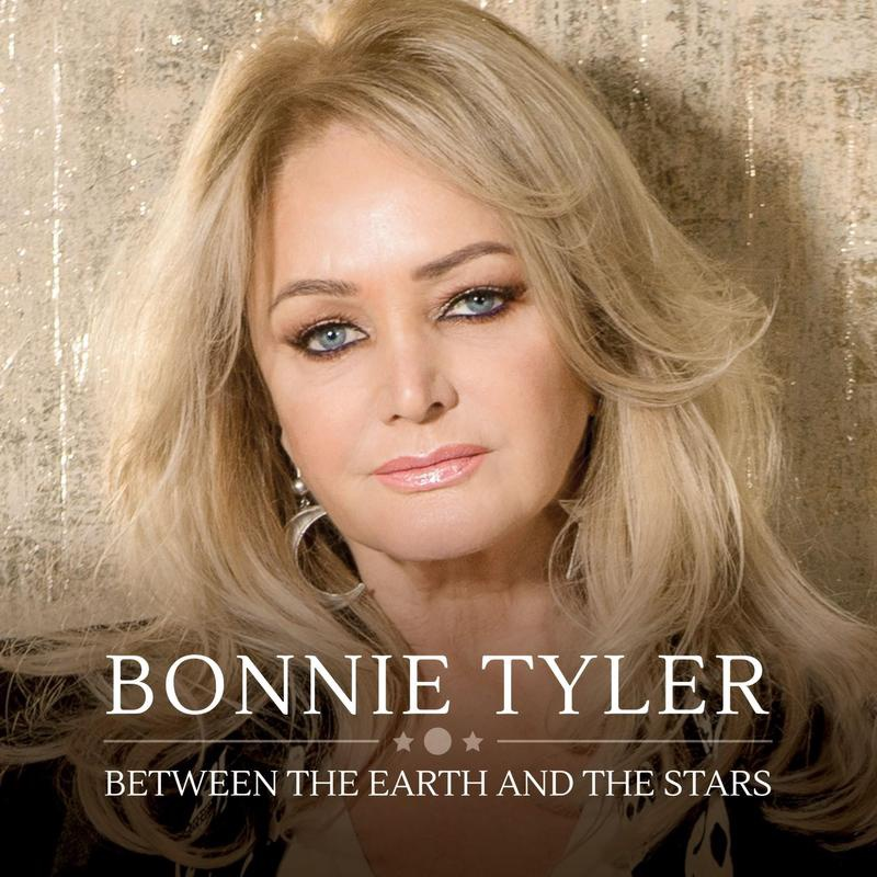 BONNIE TYLER - BETWEEN THE EARTH AND THE STARS (TRANSPARENT BLUE VINYL)