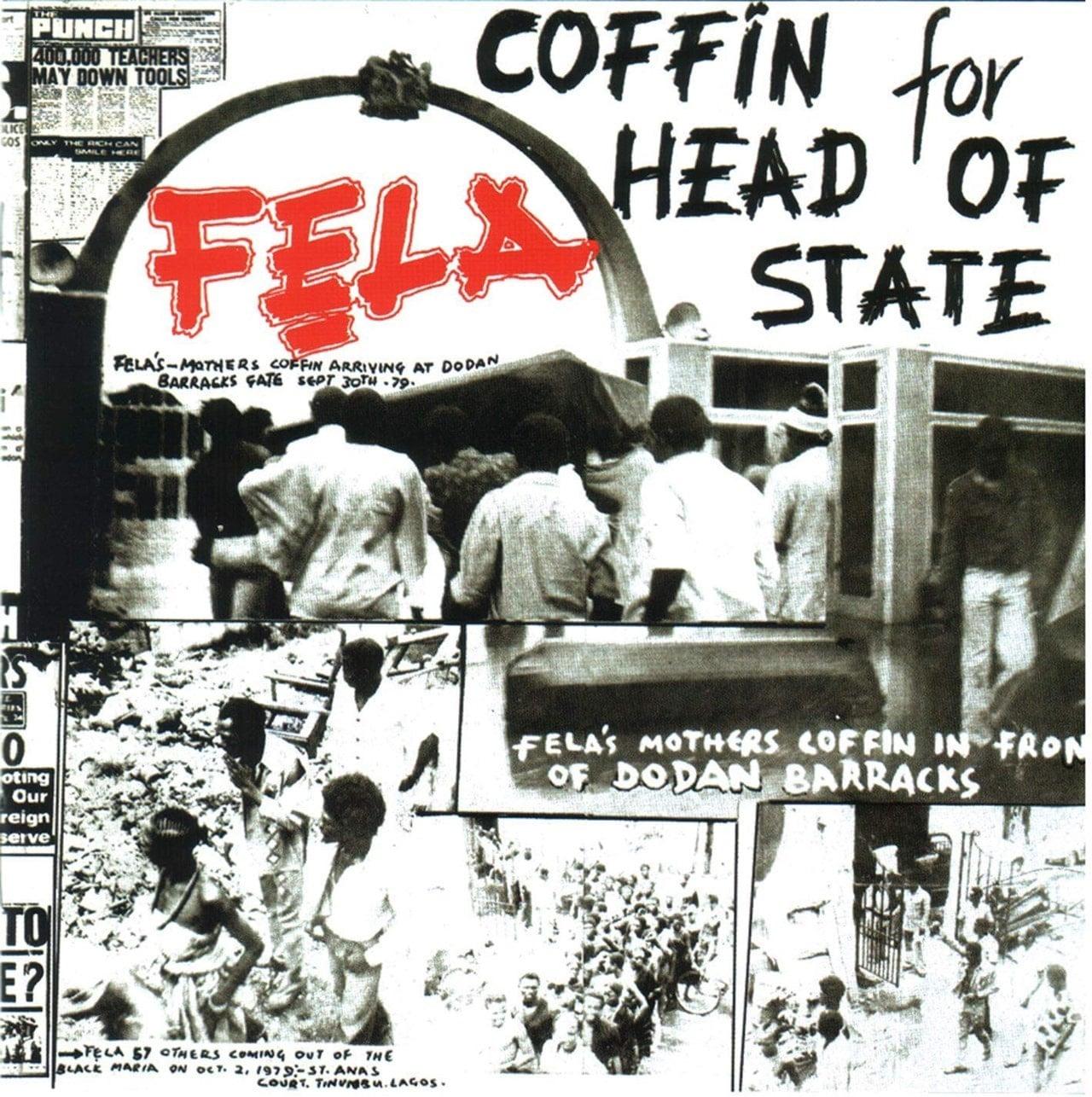 FELLA KUTI - COFFIN FOR HEAD OF STATE
