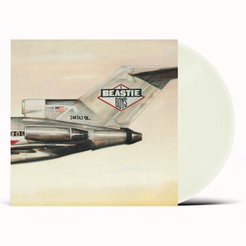 Beastie Boys: Licensed To Ill - CLEAR Vinyl LP - Limited Edition 2020 Reissue