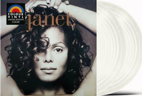 Janet Jackson: Janet. - LTD Double CLEAR Vinyl LP - Limited 2020 Reissue