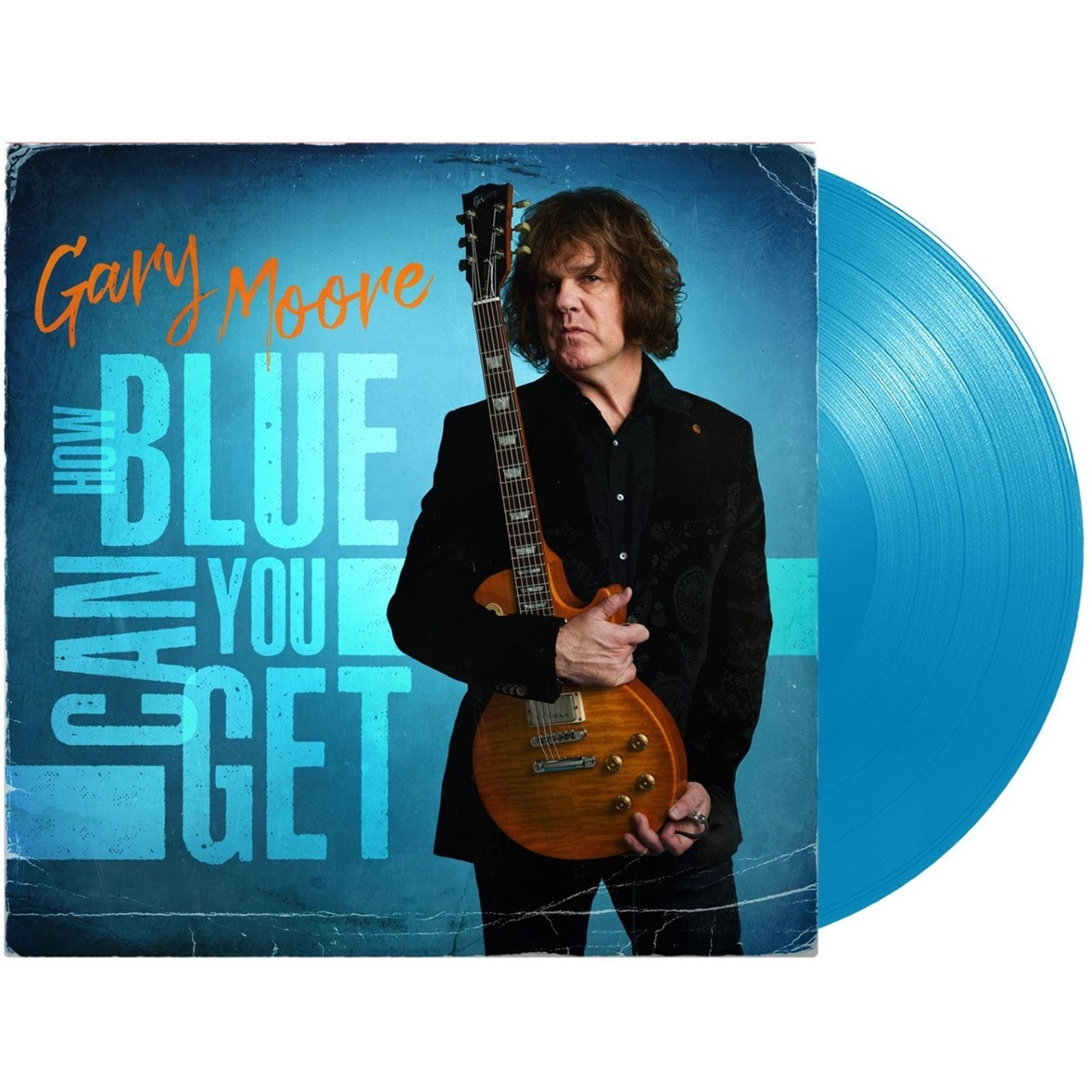 GARY MOORE - HOW BLUE CAN YOU GET (ltd edition blue vinyl)