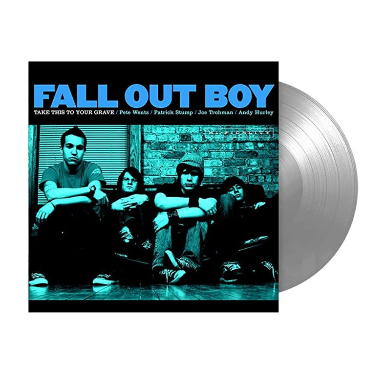 FALL OUT BOY - TAKE THIS TO YOUR GRAVE (LTD edition silver vinyl)