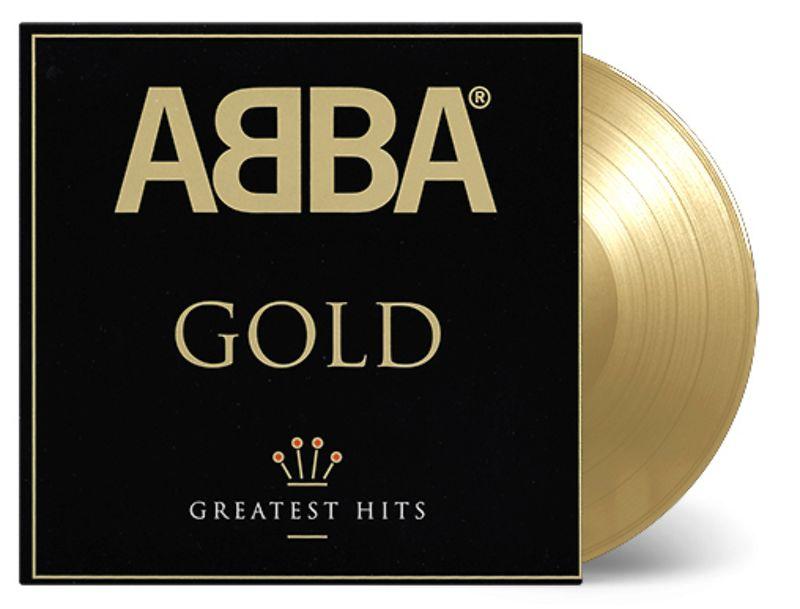 ABBA - GOLD - GOLD VINYL