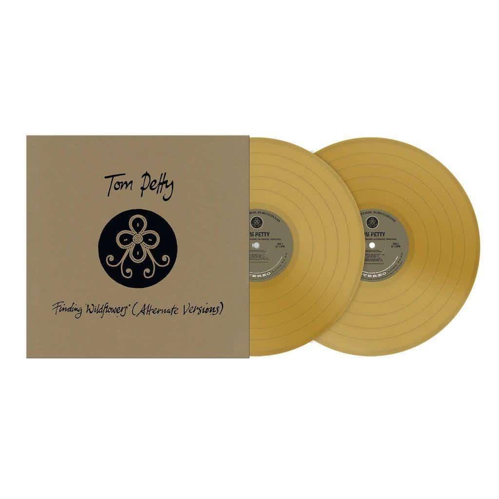 TOM PETTY - FINDING WILDFLOWERS (ALTERNATE VERSION/gold vinyl)