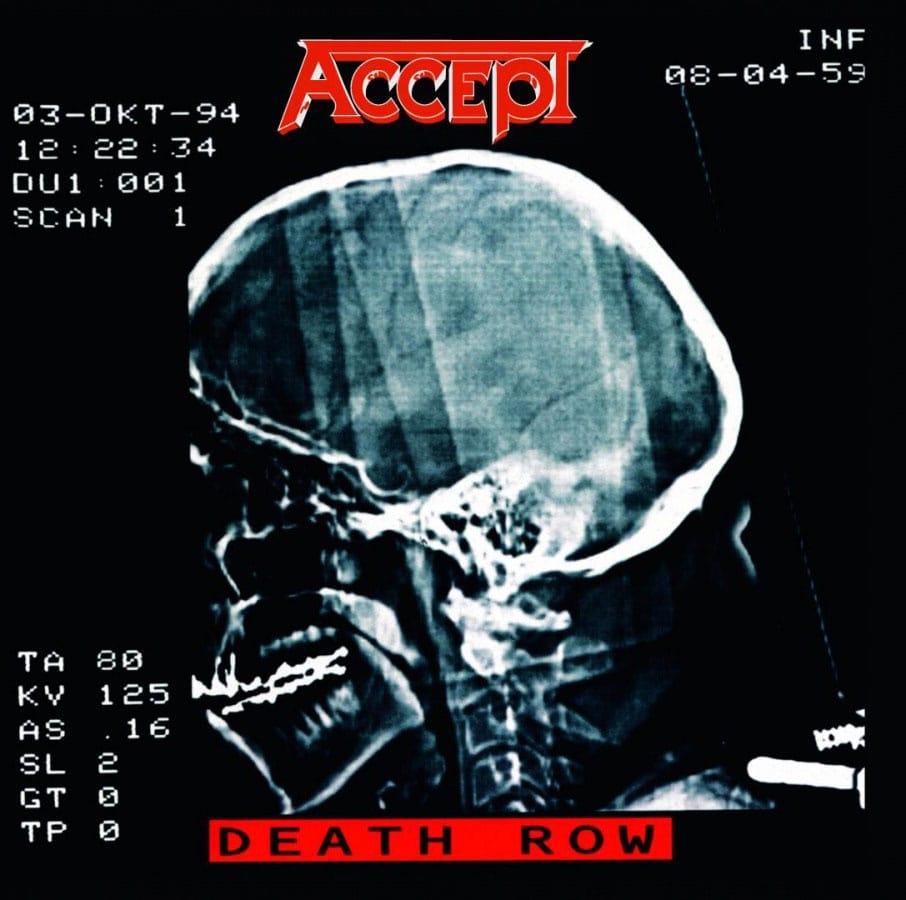ACCEPT - DEATH ROW 2LP