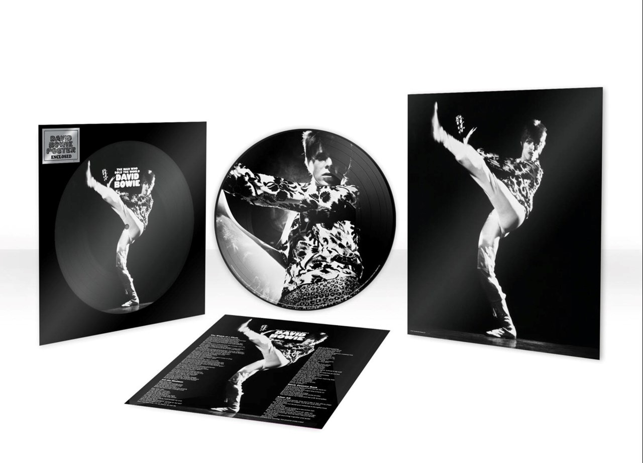 DAVID BOWIE - THE MAN WHO SOLD THE WORLD (PICTURE DISK)