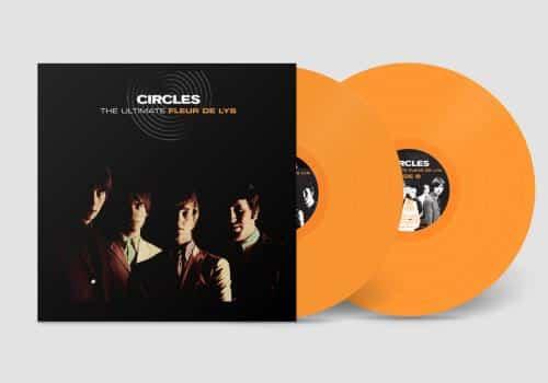 THE CIRCLES - FLEUR DE LYS (ORANGE VINYL)