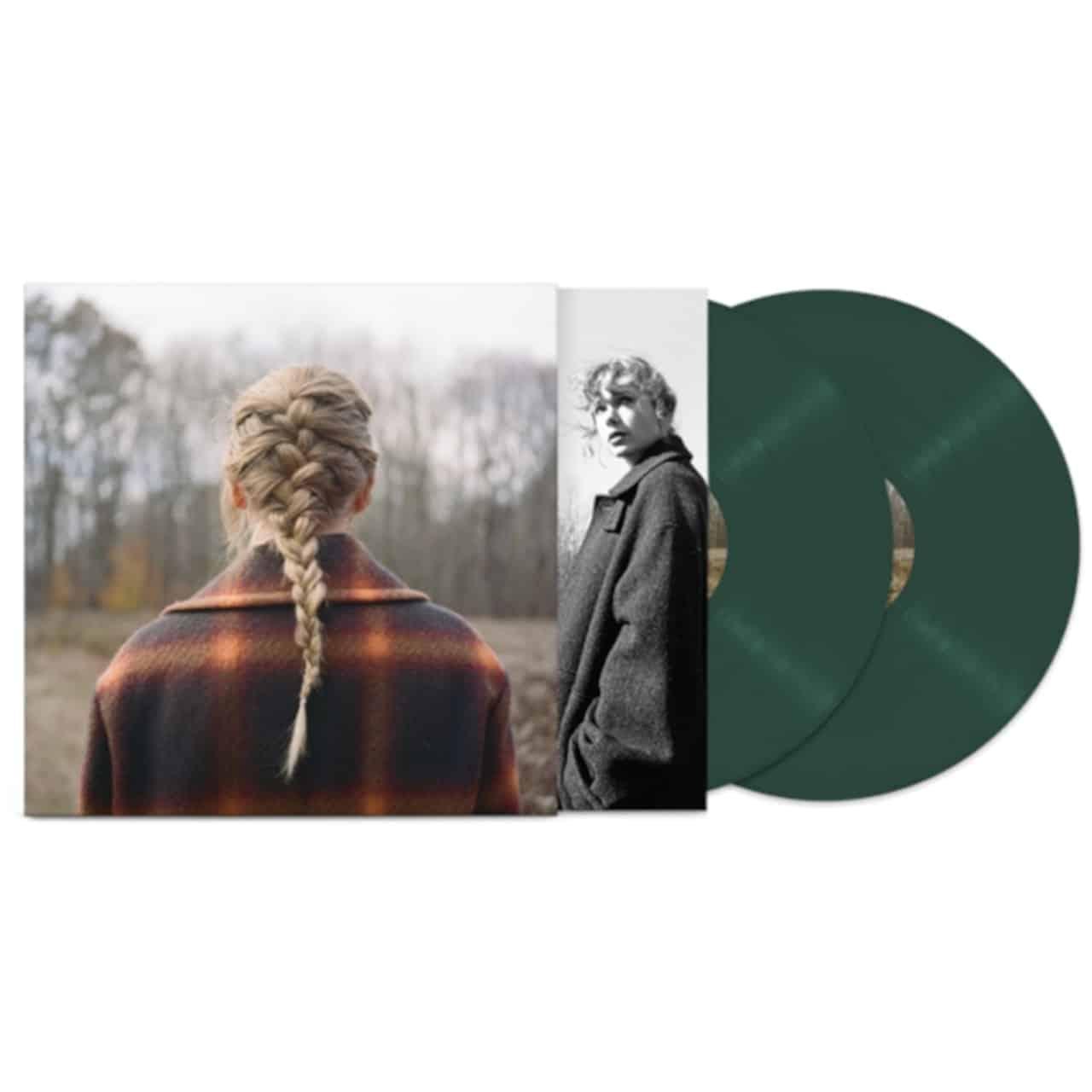 TAYLOR SWIFT - EVERMORE (green vinyl)