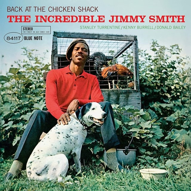 JIMMY SMITH - BACK AT THE CHICKEN SHACK (BLUE NOTE AUDIOPHILE RE-ISSUES)