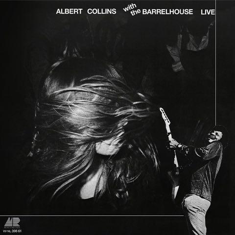 Albert Collins  Barrelhouse / Live  (Coloured Vinyl) (1LP)