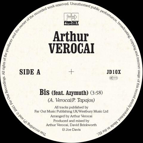 ARTHUR VEROCAI FEAT. AZYMUTH - BIS (RSD)