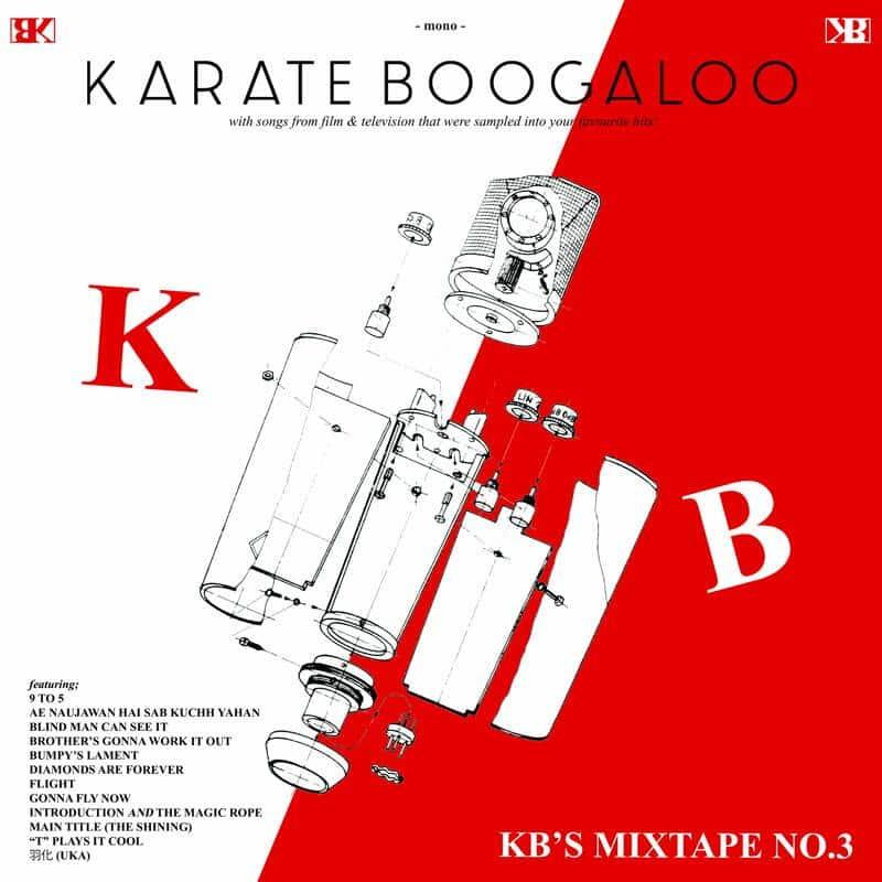 KARATE BOOGALOO - KB'S MIXTAPE NO.3