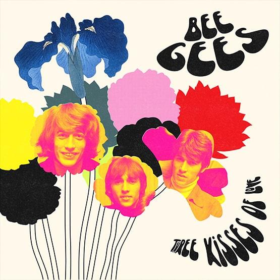 Bee Gees / Three Kisses Of Love   (Coloured Vinyl) (1LP)