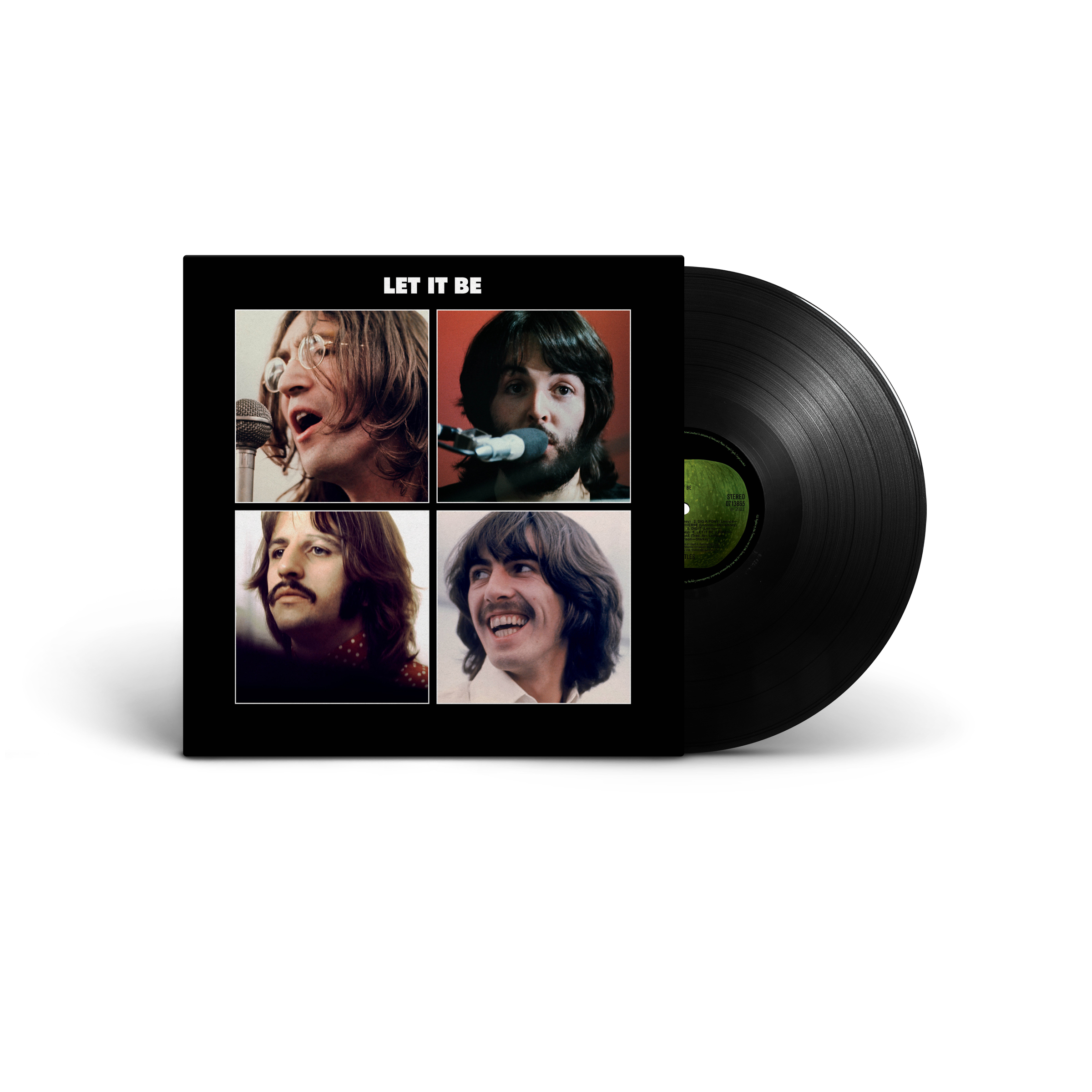 THE BEATLES - LET IT BE RE-ISSUE