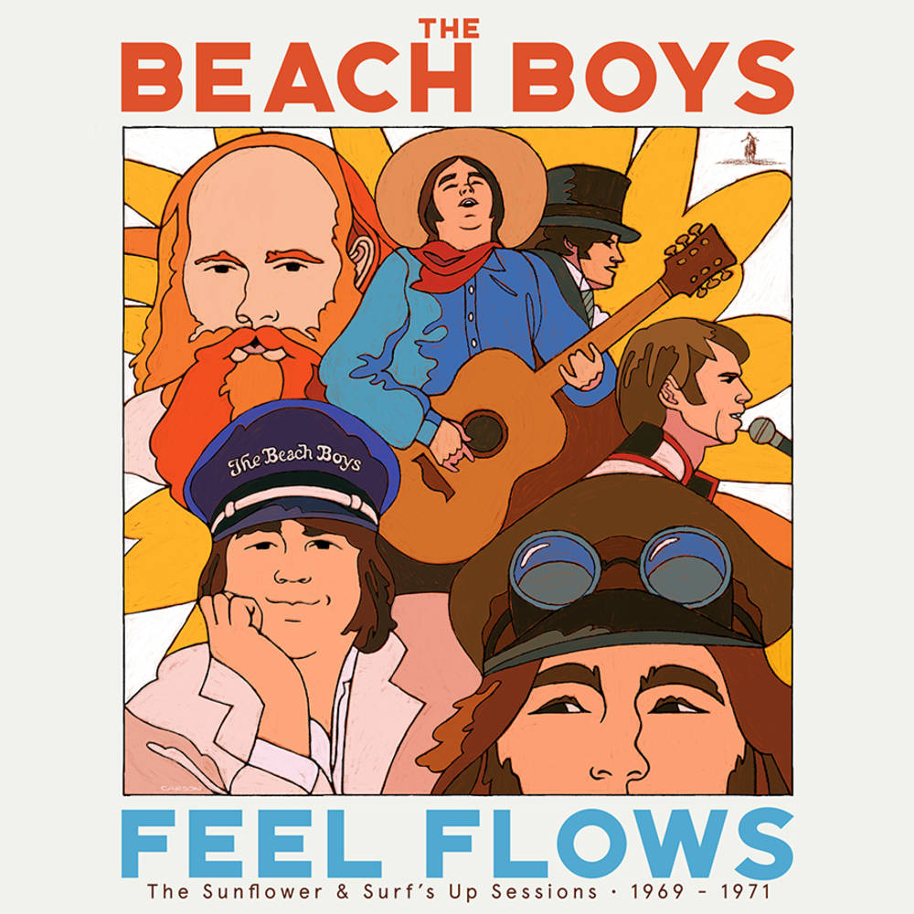 THE BEACH BOYS - FEEL FLOWS THE SUNFLOWER & SURFS UP SESSIONS 1969-1971